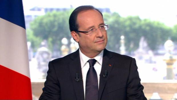François Hollande, interview du 14 Juillet 2012