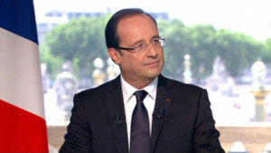 François Hollande, interview du 14 Juillet 2012