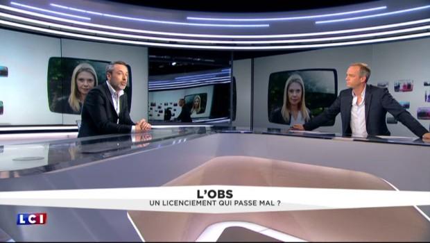"""L'éviction d'Aude Lancelin de L'Obs n'a """"absolument rien de politique"""""""