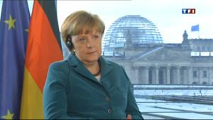 """Le 20 heures du 17 juin 2013 : Angela Merkel sur TF1 : """"Un changement peut aussi �e quelque chose de bon"""" - 1245.8126200561524"""
