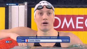 Natation : Camille Muffat à nouveau championne d'Europe