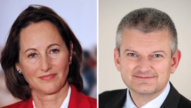 Ségolène Royal et Olivier Falorni.