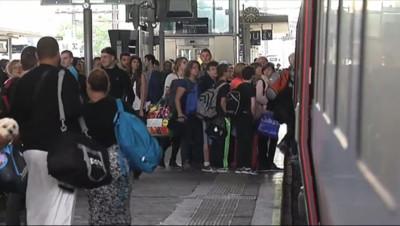 Le 20 heures du 30 septembre 2014 : D�ge dans l'H�ult : 2000 passagers contraints de dormir dans les trains - 461.169