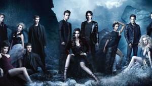 Vampire Diaries - Saison 4. Série créée par Kevin Williamson, Julie Plec en 2009. Avec : Nina Dobrev, Paul Wesley, Ian Somerhalder et Steven R. Mcqueen.