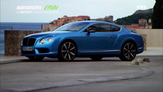 Essai Vidéo : Continental GT V8 S, la meilleure Bentley ?