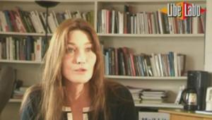 Carla Bruni Sarkozy Liberation