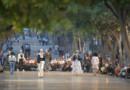 Le défilé Chanel sur le Prado à La Havane le 3 mai 2016