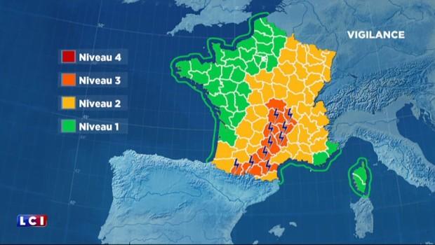 Météo : alerte aux orages violents dans 12 départements