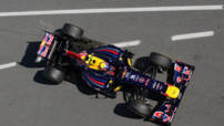 Red Bull Webber F1 Tests 2012 Barcelona