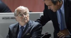 Sepp Blatter et Michel Platini en mai 2015
