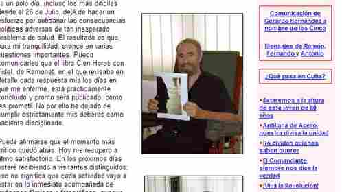 TF1 / LCI Fidel Castro à l'hôpital le 5 septembre 2006