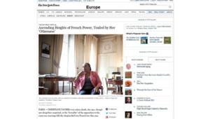 christiane taubira new York Times