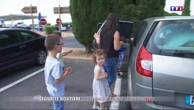 Enfants en voiture : les parents sont-ils assez prudents au volant
