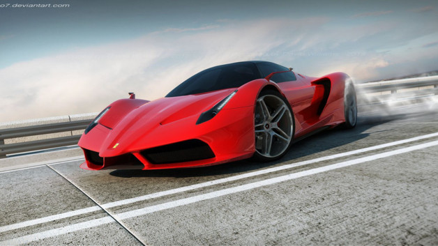 Ferrari F70 Concept David Williams