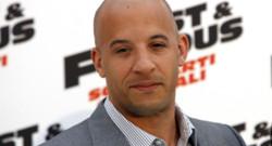 L'acteur américain Vin Diesel lors d'une avant-première de Fast and Furious 5