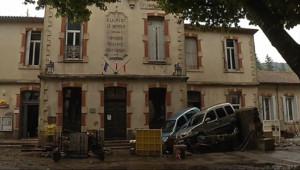 Le 13 heures du 19 septembre 2014 : Intemp�es : plusieurs villages du Gard frapp�par les crues - 350.741