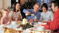repas fête famille noel table