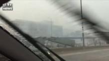 Violent orage à Chicago : le toit d'une station de train s'effondre sur le quai