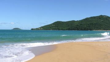 guadeloupe plage mer paradis