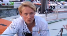 Maxime Sorel, participant de la Route du Rhum 2014