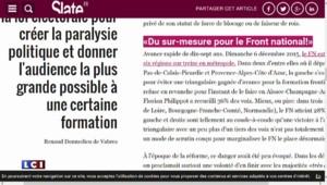 Régionales : Comment le changement de mode de scrutin en 1998 favorise aujourd'hui le FN