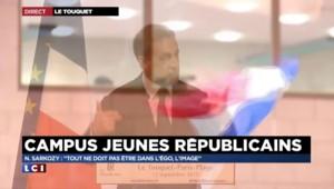 """Sarkozy sur la visite surprise de Juppé : """"Je le savais"""""""