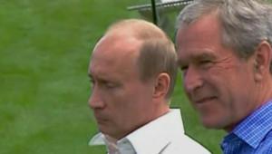 TF1/LCI : George W. Bush à Kennebunkport avec Vladimir Poutine (3 juillet 2007)