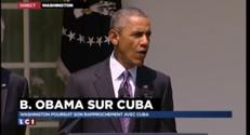 Barack Obama annonce le rétablissement des relations diplomatiques avec Cuba