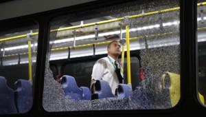 Bus Rio de Janeiro JO Jeux Olympiques favela