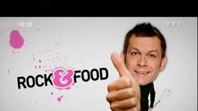 10h Le Mag - Rock n Food - Cuisine - Laurent Mariotte