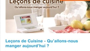 Cuisine sur DS