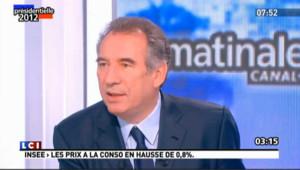 Finances publiques : pour Bayrou, Hollande sera plus économe qu'il le dit