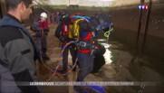 Ils plongent jusqu'à 50 m de profondeur : scaphandrier, un métier à risques