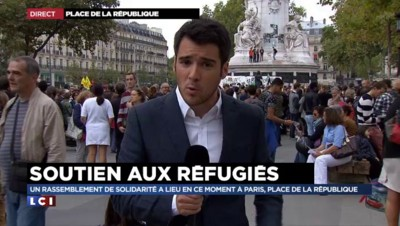Migrants : rassemblement de soutien à Paris