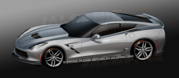 Corvette 2013 scoop