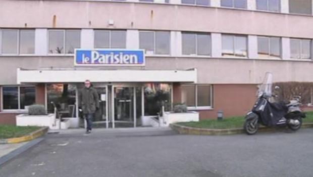 La façade du Parisien