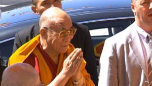 Le dalaï-lama, le 13 août 2008 à Paris
