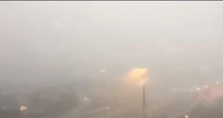 Toronto : une violente tempête captée par une caméra de surveillance