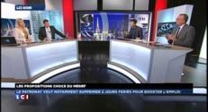 """E. Blanc (UMP) : """"Le MEDEF a raison de poser ces questions !"""""""