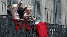 Femen Marine Le Pen