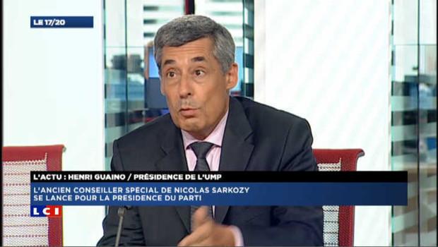 Henri Guaino est candidat à la présidence de l'UMP