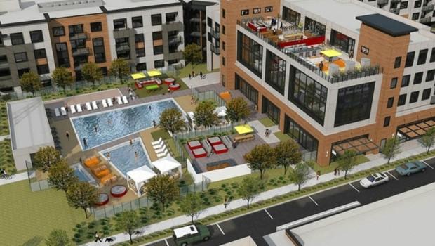 Le projet immobilier de Facebook baptisé Anton Menlo en Californie