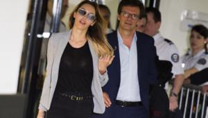 Nabilla arrive à son procès à Nanterre, 19/5/2016