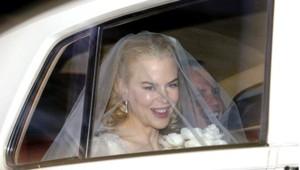 Nicole Kidman, lors de son mariage, en 2006