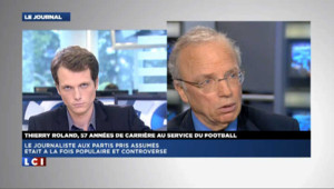 """Thierry Roland : """"Je pense que l'équipe de France va gagner"""""""