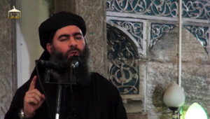 Abou Bakr al-Baghdadi, dans une vidéo diffusée en juin 2014
