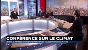Anne Hidalgo accueille les représentants de villes européennes pour préparer la conférence climat