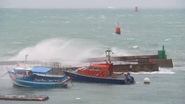Des vents ont balayé le littoral ouest dans la nuit du 7 février au 8 février 2016