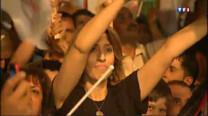 En Cisjordanie, des milliers de personnes sont descendues dans les rues pour manifester leur joie, à l'annonce de la demande d'adhésion d'un Etat palestinien à l'ONU. La journée a été également marquée par des heurts avec l'armée israélienne.
