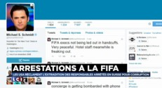Football : l'arrestation des dirigeants de la FIFA en direct sur Twitter